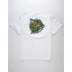 SANTA CRUZ Shark Dot Mens T-Shirt