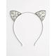 FULL TILT Jeweled Cat Ear Headband