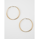 FULL TILT Diamond Cut Hoop Earrings