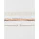 FULL TILT 3 Pack Pearl/Bead/Lace Chokers