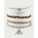 FULL TILT 5 Pack Rhinestone/Star Bracelets