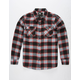 RSQ Longline Boys Flannel Shirt