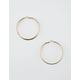 FULL TILT Twisted Hoop Earrings