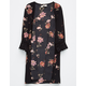 SKY AND SPARROW Crochet Floral Girls Kimono