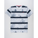 ASPHALT YACHT CLUB Topographic Mens T-Shirt