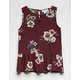 IVY + MAIN Floral Lattice Girls Babydoll Top