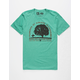 HIPPYTREE Walnut Mens T-Shirt