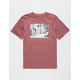 VANS Mixed Media Boys T-Shirt