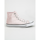 CONVERSE Velvet Chuck Taylor All Star Hi Womens Shoes