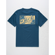 NOR CAL Golden Hour Mens Pocket Tee