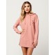 POLLY & ESTHER Destructed Hoodie Dress