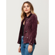 FULL TILT Corduroy Womens Anorak Jacket