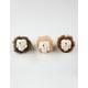 Ganley The Hedgehog Plush Keychain