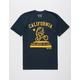 RIOT SOCIETY Bike Back To Cali Mens T-Shirt