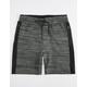 BROOKLYN CLOTH Space Dye Mens Sweat Shorts