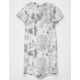 SKY AND SPARROW Tie Dye Girls T-Shirt Dress