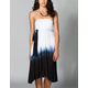 ELAN Dip Dye Womens Convertible Coverup