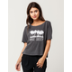 AMUSE SOCIETY Stay Awhile Womens Tee