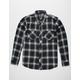 DISTORTION Deep Sea Mens Flannel Shirt