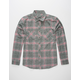 DISTORTION Main Street Mens Flannel Shirt