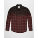 BIRCH BLACK Problems Mens Flannel Shirt
