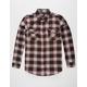 RSQ Longline Mens Flannel Shirt