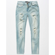 RSQ Tokyo Ripped Super Skinny Stretch Boys Jeans