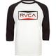RVCA Reds Mens Baseball Tee
