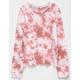 SKY AND SPARROW Tie Dye Girls Sweatshirt