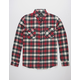 SHOUTHOUSE Merica Mens Flannel Shirt