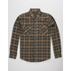 SHOUTHOUSE Trevor Mens Flannel Shirt