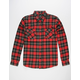 SHOUTHOUSE Beaver Mens Flannel Shirt
