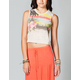 ROXY Hula Hula Womens Crop Tee