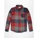 UNIVIBE Draftsman Mens Flannel Shirt