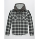 VALOR Furthest Mens Hooded Flannel Shirt