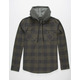 VALOR Tellin Mens Hooded Flannel Shirt