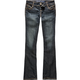 ALMOST FAMOUS Heavy Stitch Womens Bootcut Jeans