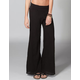 ELAN Womens Fold Over Waist Pants