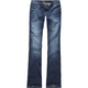YMI Fleur De Lis Womens Bootcut Jeans