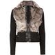 FULL TILT Fur Bomber Womens Jacket