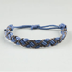 BLUE CROWN Leather Braided Bracelet