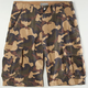 CHARLES AND A HALF Adler Camo Mens Cargo Shorts