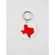 Texas Red Keychain