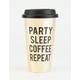 Party Sleep Coffee Tumbler