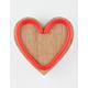 Wood LED Heart Light