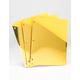 3 Pack Metallic Gold Binder Folders