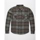 LOSER MACHINE Grant Mens Flannel Shirt