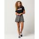 IVY & MAIN Hacci A-Line Skirt