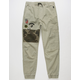 NITROUS BLACK Camo Patch Boys Jogger Pants
