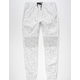 BROOKLYN CLOTH Space Dye Moto Mens Jogger Pants